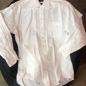 LIKE NEW MENS CLAIBORNE LONG SLEEVE DRESS SHIRT